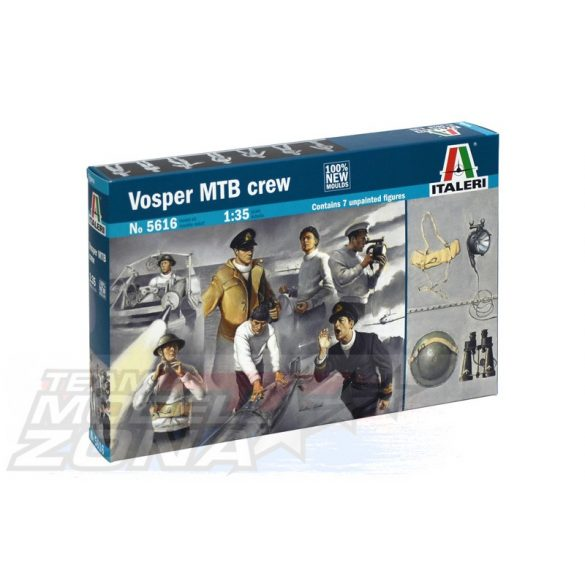 Italeri VOSPER MTB CREW - makett