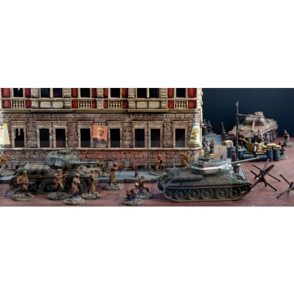 Italeri BATTLE of BERLIN Diorama Set - makett