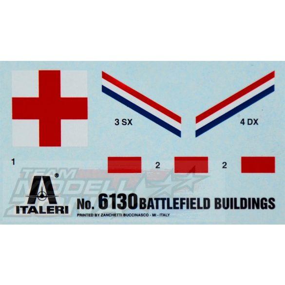 Italeri Battlefield Buildings - makett