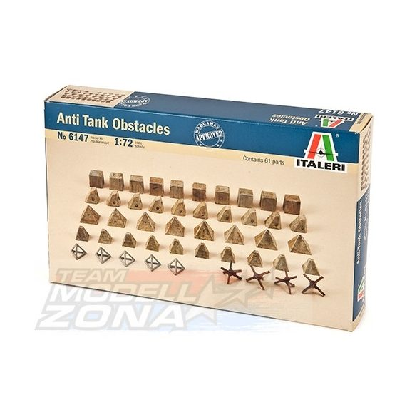 Italeri ANTITANK OBSTACLES - makett