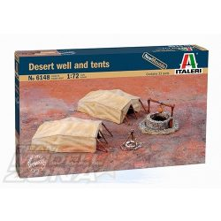 Italeri DESERT WELL & TENTS - makett