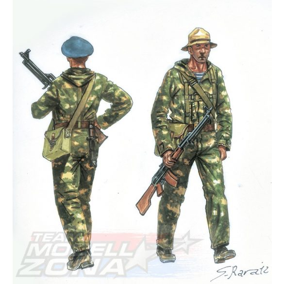 Italeri Soviet Special Forces - makett