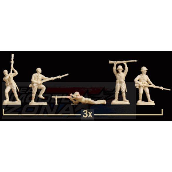 Italeri Japanese Infantry - makett