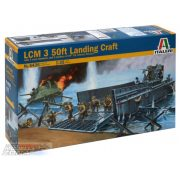 Italeri LCM 3 FT Landing Craft- makett