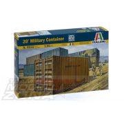 Italeri katonai konténer - makett