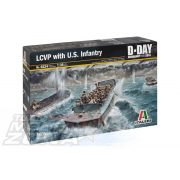 Italeri LCVP with U.S. INFANTRY- makett