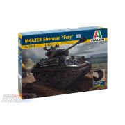 "Italeri - 1:35 ""M4A3E8 Sherman Fury"" - makett"