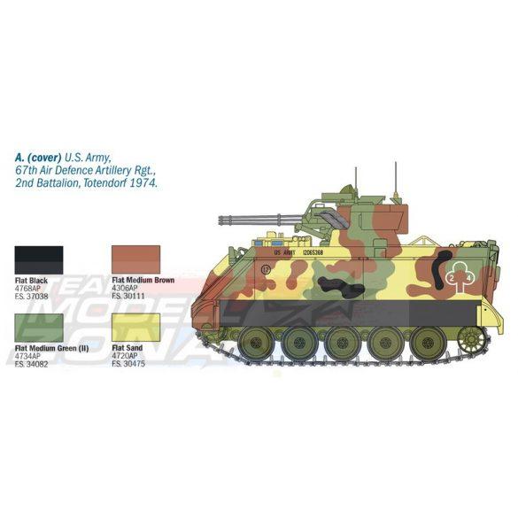 Italeri - 1:35 M163 VADS- makett