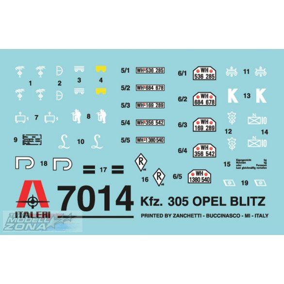 Italeri Opel Blitz - makett