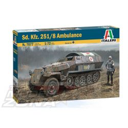 Italeri - 1:72 Sd.Kfz. 251/8 AMBULANCE - makett