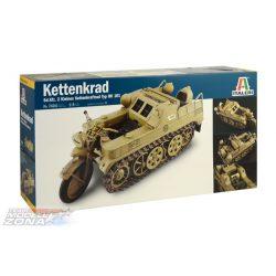 "Italeri - 1:9 NSU HK 101 ""Kettenkrad"" - makett"