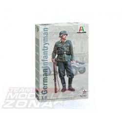 italeri - 1:9 German Infantryman - makett