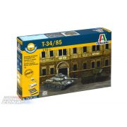 Italeri - Russischer Panzer T-34/85 Fast Assembly Kit - makett