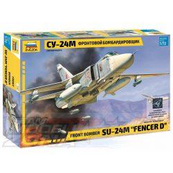"Zvezda - 1:72 Sukhoi SU-24M ""Fencer-D"" - makett"