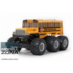 Tamiya - 1:18 RC King Yellow 6x6 Bus (G6-01)
