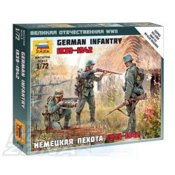 Zvezda German Infantry - makett