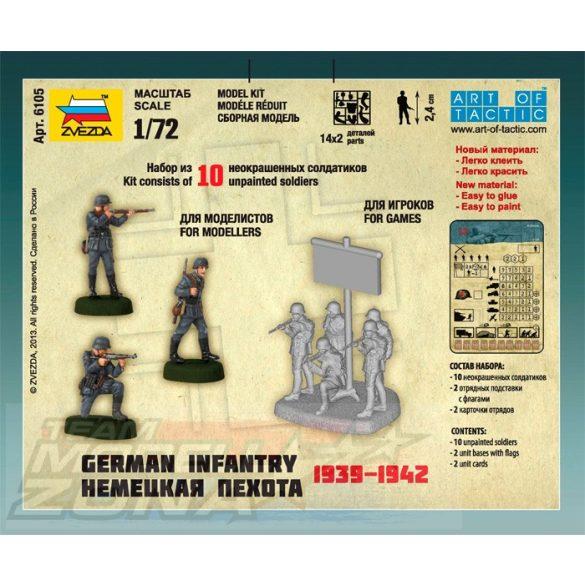 Zvezda German Infantry - makett