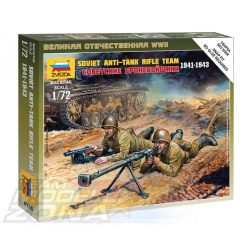Zvezda Soviet Anti Tank Team - makett