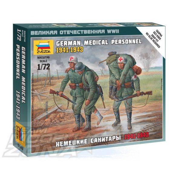 Zvezda German Medical Personnel 41-43 - makett