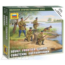 Zvezda Soviet Frontier Guards - makett