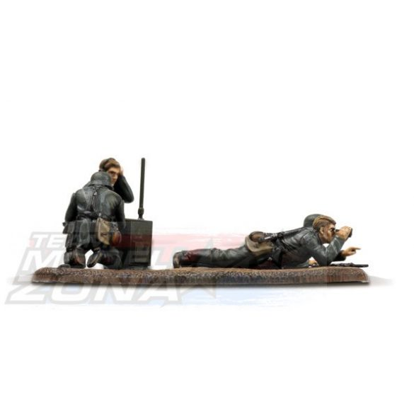 Zvezda German Reconnaissance Team - makett