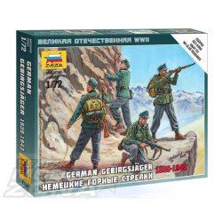 Zvezda German Gebirgsjager - makett