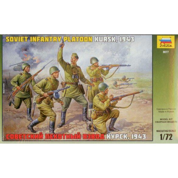 Zvezda Soviet Infantry WWII - makett